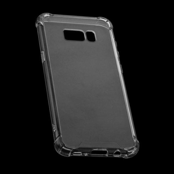 Premium TPU / Plastik Protector Case für Samsung Galaxy S8+ - transparent