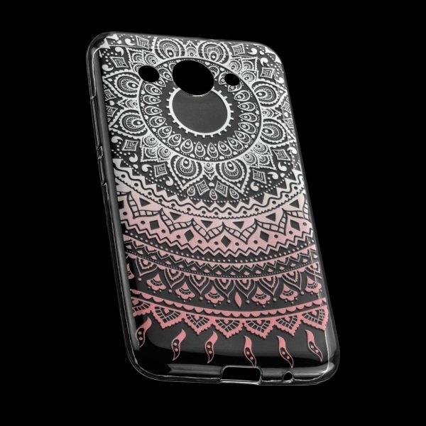 TPU Hülle Case Tasche mit Druck für Huawei Y7 - Design: Mandala