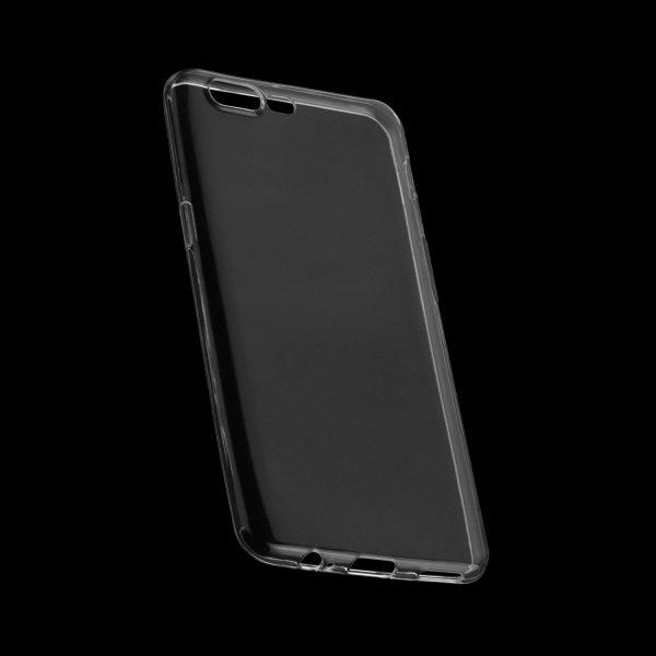 Transparente TPU Case Tasche Foggy Clear für OnePlus 5 - Transparent