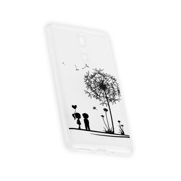 TPU Hülle Case Tasche mit Druck für Nokia 8 - Design: Love