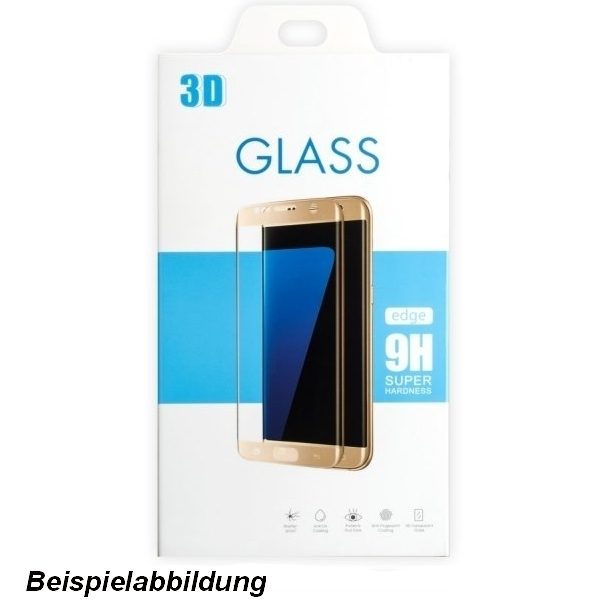 Premium Glas Folie 3D (Case friendly) f. Samsung Galaxy Note 8, Härtegrad 9H, black