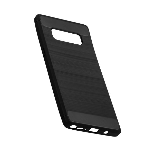 Hybrid TPU Case Handyhülle im Black Hybrid Look für Samsung Galaxy Note 8