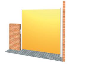 Micro 700 - Höhe 134 cm Seitenzugmarkise  – Bild 1