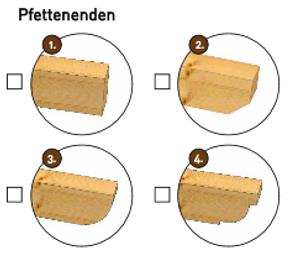 Holz-Terrassendach mit Polycarbonatbedachung Breite: 7 m – Bild 3