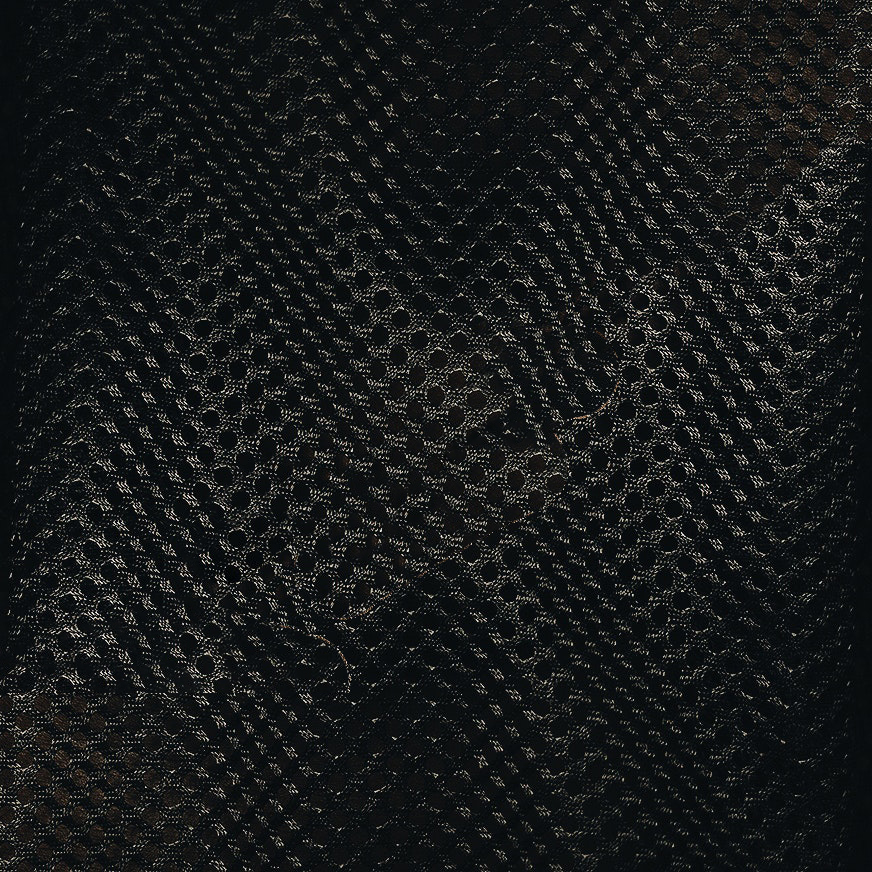 Mesh-Material schwarz