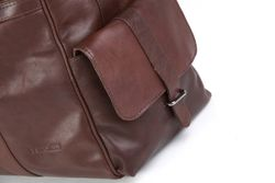 travel bag holdall  ASHTON Smooth Leather 5