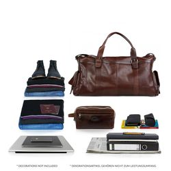 travel bag holdall  ASHTON Smooth Leather 4