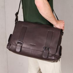 messenger bag ASHTON Smooth Leather 7