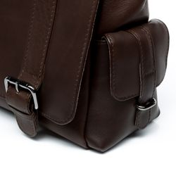 FEYNSINN Omhangtas Leer Messenger bag bruin Messenger bag ASHTON   3