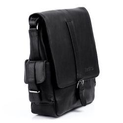 FEYNSINN Omhangtas Leer Messenger bag zwart Messenger bag ASHTON   4