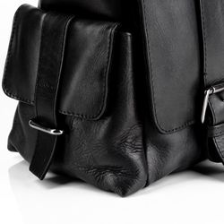 FEYNSINN Messenger bag Glattleder schwarz Laptoptasche Messenger bag 8