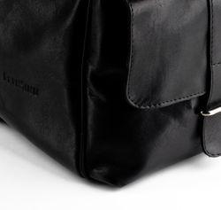 FEYNSINN sac de voyage cuir noir fourre-tout besace week-end sac sport bagages cabine à main 3