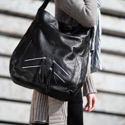 BACCINI Schultertasche CAPRI Soft Leder alice Handtasche Schultertasche 3