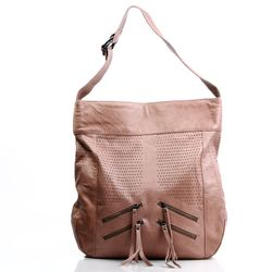 FEYNSINN hobo bag HALEY -130- shoulder bag WASHED leather - camel-beige