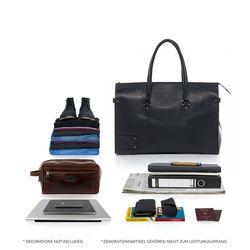 BACCINI Reisetasche Premium Smooth schwarz Sporttasche Reisetasche 2