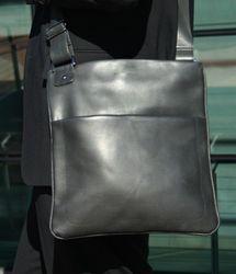 BACCINI Umhängetasche MATTEO Premium Smooth schwarz Schultertasche Umhängetasche 4