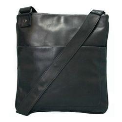 BACCINI cross-body bag MATTEO -80- messenger bag SMOOTH leather - black