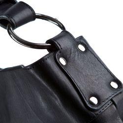 BACCINI Beuteltasche Soft Nappa schwarz Hobo Bag Beuteltasche 3