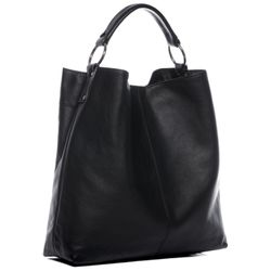 BACCINI Beuteltasche Soft Nappa schwarz Hobo Bag Beuteltasche 2