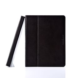 Feynsinn Tablet-Hülle Display-Ständer Ipad Cover - Leder Ipad-Tasche, Medium, schwarz 3