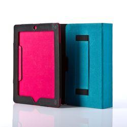 FEYNSINN caisse de tablette avec support pour le display cuir noir sac d'ipad housse pour tablet 4
