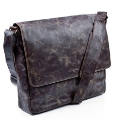 messenger bag STAN Distressed Leather 2