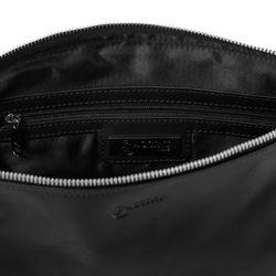 BACCINI Clutch Glattleder schwarz Unterarmtasche Clutch 2