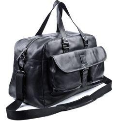 BACCINI Reisetasche DAVE Weekender XL Glattleder Reisetasche Weekender Sporttasche 2