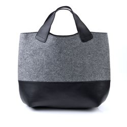 top-handle tote bag FREYA Felt & Leather