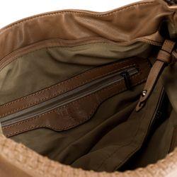 HERGÉ shopper HELENE  handbag M brown Manmade leather souder bag  5
