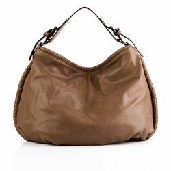 HERGÉ shopper HELENE  handbag M brown Manmade leather souder bag  1