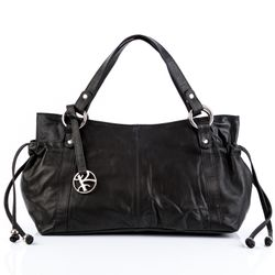 top-handle tote bag ANNA Nappa Leather 1