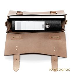 SID & VAIN serviette ordinateur portable cuir noir cartable porte-document attaché-case sac de travail avec sangle 4
