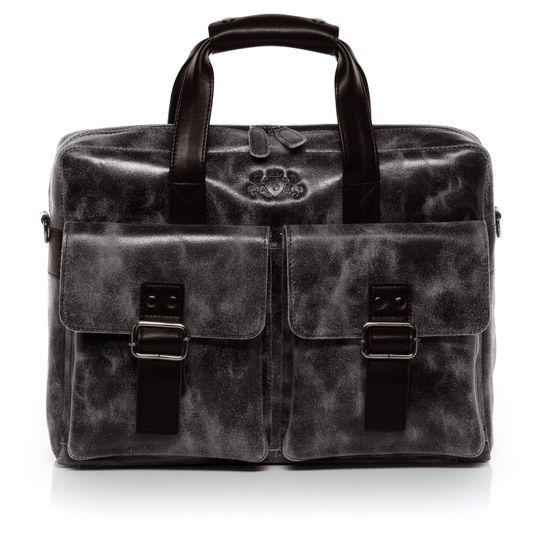 SID & VAIN Laptoptasche Echtleder HARVEY braun Businesstasche 15   Taschen > Businesstaschen > Aktentaschen   SID & VAIN