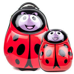 1x children-trolley and 1x backpack LadyBird Polycarbonate
