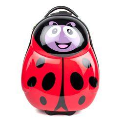 FERGÉ Set Kinder-Trolley & Rucksack LadyBird ABS & PC LadyBird Handgepäck-Koffer Rollen 1x Kinder-Trolley & 1x Rucksack 10