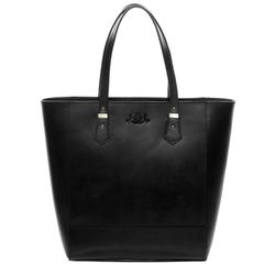 SID & VAIN Schoudertas Leer Shopper zwart Shopper TRISH