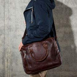 laptop bag NATHAN Natural Leather 5