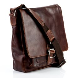 messenger bag NATHAN Natural Leather 2
