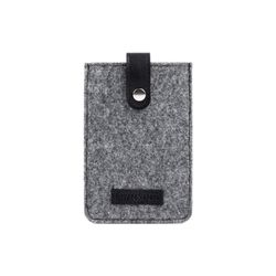 Feynsinn Handytasche Dean Handy-Cover - Leder Iphone-Hülle, Medium, schwarz-grau 1