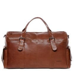travel bag holdall  ASHTON Aniline leather