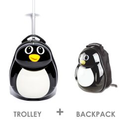 1x children-trolley and 1x backpack PINGUIN Polycarbonate