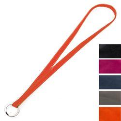 FEYNSINN keylace KACY  keyband M orange Smooth Leather key-ring  3