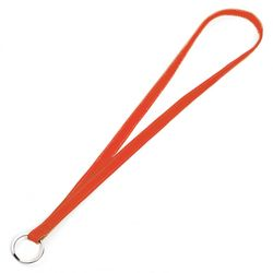 FEYNSINN keylace KACY  keyband M orange Smooth Leather key-ring