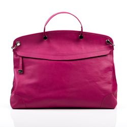 BACCINI tote bag NOEMI -270- top-handle bag PRADA leather - pink