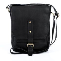 FEYNSINN Umhängetasche JACKSON Premium Smooth schwarz Messenger Bag Umhängetasche 2