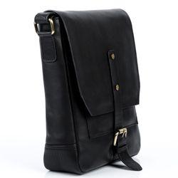 FEYNSINN Umhängetasche JACKSON Premium Smooth schwarz Messenger Bag Umhängetasche 3