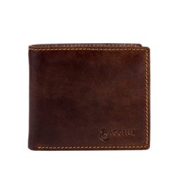 billfold wallet LEANDRO Natural Leather