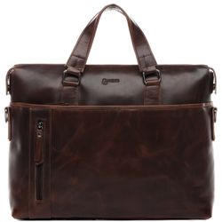 laptop bag LEANDRO Natural Leather 1