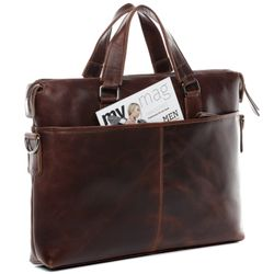 laptop bag LEANDRO Natural Leather 10